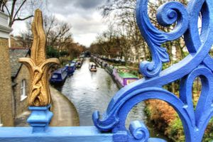 Le quartier Little Venice (Londres, Angleterre)
